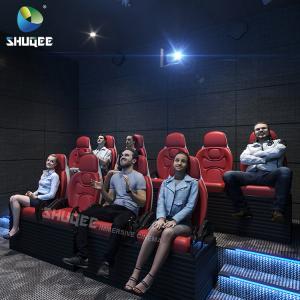 Luxury 4D 5D 6D 7D XD Cinema Electric Movie Theater Motion Seats Amusment Park Manufactures