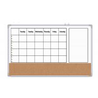 Buy cheap Porcelain Rolling Magnetic Dry Erase Whiteboard With Aluminum Frame from wholesalers