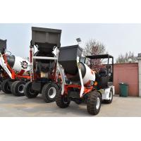 Buy cheap Small Self Loading And Feeding Mobile Concrete Batching Plant 50 Drive Axle from wholesalers