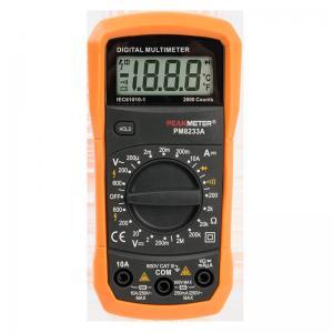 2000 Counts DC AC Voltage measurement commercial electric smart pocket digital multimeter Manufactures