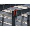 Buy cheap Waterproof 80*60*8M Prefab Steel Warehouse With PVC Window from wholesalers