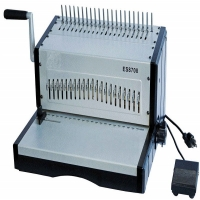 Electric Wire Coil Comb Binding Machine For Notebook Binding Manufactures