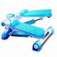 Mini Exercise Stepper with Two Transparent Blue Cylinders, GS Approved Manufactures