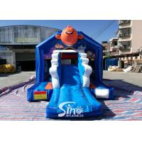 Bouncy Castle With Slide Combo Jumper For Inflatable Games Manufactures