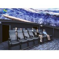 Dome Special Buildings 3D Movie Cinema Curved Screen Immersive Cinema With 4D Motion Seats Manufactures