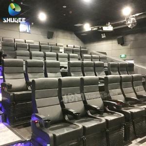 4D Motion Seats 7D Mini Cinema System Hall Amusement Park Equipment Manufactures