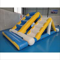 Commercial Inflatable Ladder With 0.9mm PVC Tarpaulin For Water Sport Games Manufactures