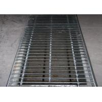 China Heavy duty Galvanized Steel Grating Drain Cover Free Sample Customized on sale