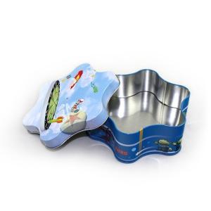 Premium Gift Plum-Blossom Shape Tin Manufactures