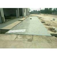 U Beam Girders Pit Type Weighbridge System Printer Load Cells Auto Tare Clearing Manufactures