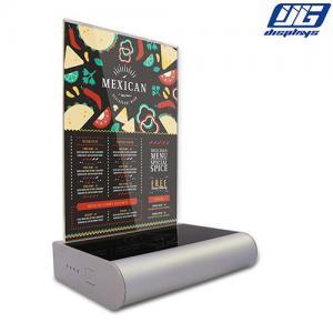 Buy cheap digital menu tablet lcd table menu power bank wireless charging power bank from wholesalers