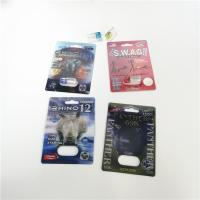 Buy cheap Double Side Self Adhesive Blister Card Packaging For FX 9000 / Rhino 7 / SWAG from wholesalers