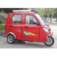 Optional Clutch Gas Powered Tricycle , 16-18L Fuel Tank OEM 3 Wheel Motorized Tricycle Manufactures