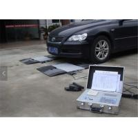 Small Moveable Dynamic Axle Weighbridge , Vehicle Weighing Pads 10kg Division Manufactures