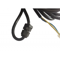 3 Pin Non Removable Plug Electronic Wiring Harness Power Cord Manufactures