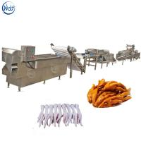 High Efficiency Poultry Processing Machine , Chicken Feet Skin Peeling Machine Manufactures
