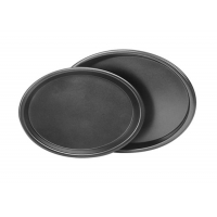 203x161x28mm Non Stick 8 Inch Pizza Baking Trays Manufactures