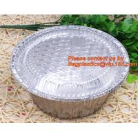disposable food packaging aluminum foil container, tray, box Customised food Aluminum Foil, bakery box, bakery container Manufactures