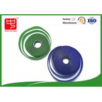Fire Retardant Hook And Loop Fastener Tape , Self Adhesive Velcro Tape Roll Manufactures