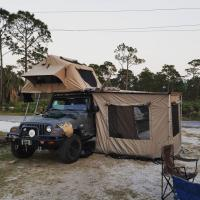 3-4 Person Off Road Vehicle Awnings UV50+ Protection 1 Year Warranty Manufactures