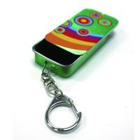 Slider Mint Tin With Key Ring Manufactures