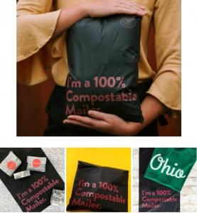 Colored Poly Mailers Custom Courier Bag Adhesive Tape Express Plastic Mailing Bags Black Wholesale Shipping Postal Bags Manufactures
