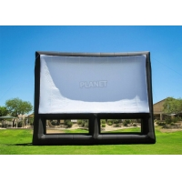 0.4mm PVC Inflatable Movie Screen Billboard For Advertising Manufactures