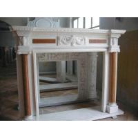 marble fireplace mantel for home decoration Manufactures