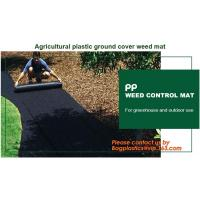 Supply heavy duty 100% virgin anti grass weed barrier/garden weed barrier cloth/agricultural ground cover mesh with UV r Manufactures