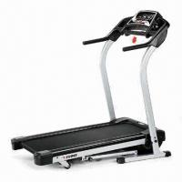 Motorized Treadmill with 1.5hp Drive DC Motor, CE Approved Manufactures