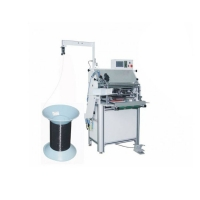 1/4'' Wire Single Plastic Spiral Coil Forming Machine Max Binding W450mm For Book Manufactures