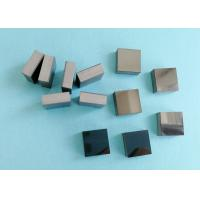 Rectangle Pcd Wire Drawing Die Blanks / PCD Square Carbide Blanks Laser Cutting Manufactures