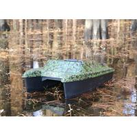 Camouflage carp fishing bait boats , radio controlled bait boat DEVC-308 Manufactures