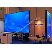 Buy cheap SMD3535 High Accuracy outside rental led screen with 640x640 die caste cabinet from wholesalers