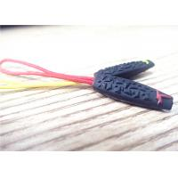 Customized Colorful 3D Silicon Rubber Zipper Puller Eco - Friendly Manufactures