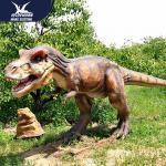 Professional Mechanical Dinosaur Model Animatronic Dino Decoration AC Voltage Manufactures