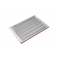 Buy cheap 5 Rows 550x400x37mm 1.2mm Baguette Baking Tray from wholesalers