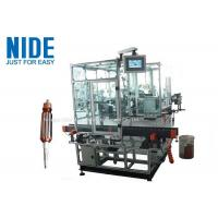 Double Flyer Rotor Windier Armature Coil Winding Machine For Hook Type Commutator Manufactures