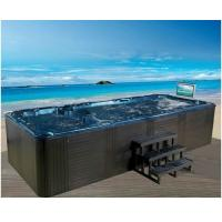Portable Freestanding Swim Spa Tub 4 Person Swimmer Exercise Pool Spa Hot Tub Manufactures