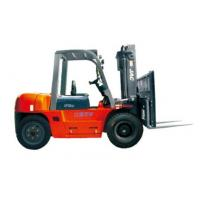 Durable Warehouse Lifting Equipment 5 Ton Diesel Forklift With Side Sliding Fork Manufactures