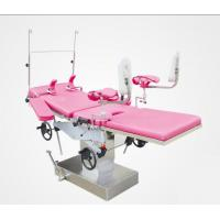 Hydraulic Obstetric Delivery Bed , Stainless Steel Operating Table Manual Type Manufactures
