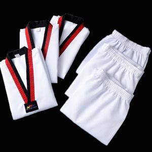 Custom high quality martial arts dobok taekwondo uniform for adult Manufactures