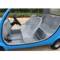 Blue Electric Sightseeing Car 4 Wheels For Renting 2250*1220*1550mm 7 Km/H Max Manufactures