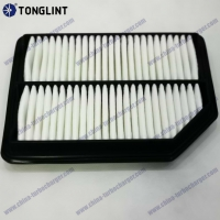 Heat Cured Cotton Acura Honda 17220-PV1-000 Automobile Air Filter Manufactures