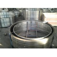 Quality EN10084 18CrMo4  DIN 1.7243 ASTM A572 Grade12 Gr11 Forged Ring Bar Machined for sale