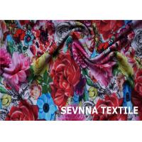 Wefting Knit Recycled Swimwear Fabric Super Stretch Fiber Screen Printing Manufactures