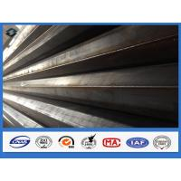 11m Q345 Polygonal Hot dip Galvanized Electric Transmission Steel Pole Manufactures