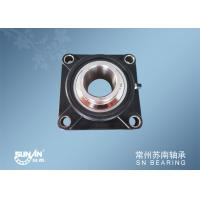 4 Bolt Flange Bearing / Ball Bearing Unit For Chemical Machinery SUCFPL208 Manufactures