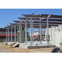 Prefab Fireproof Car Showroom Building Light Steel Frame For Temporary House Manufactures