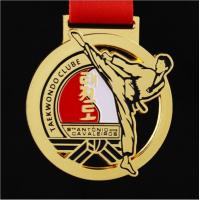 Factory Wholesale cheap  karate taekwondo judo mdeal Martial arts and sports medal ready stock fast delivery or custom Manufactures